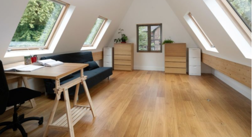 Can you use SIP Panels for Flooring? Here's a lovely SIP floor in this attic