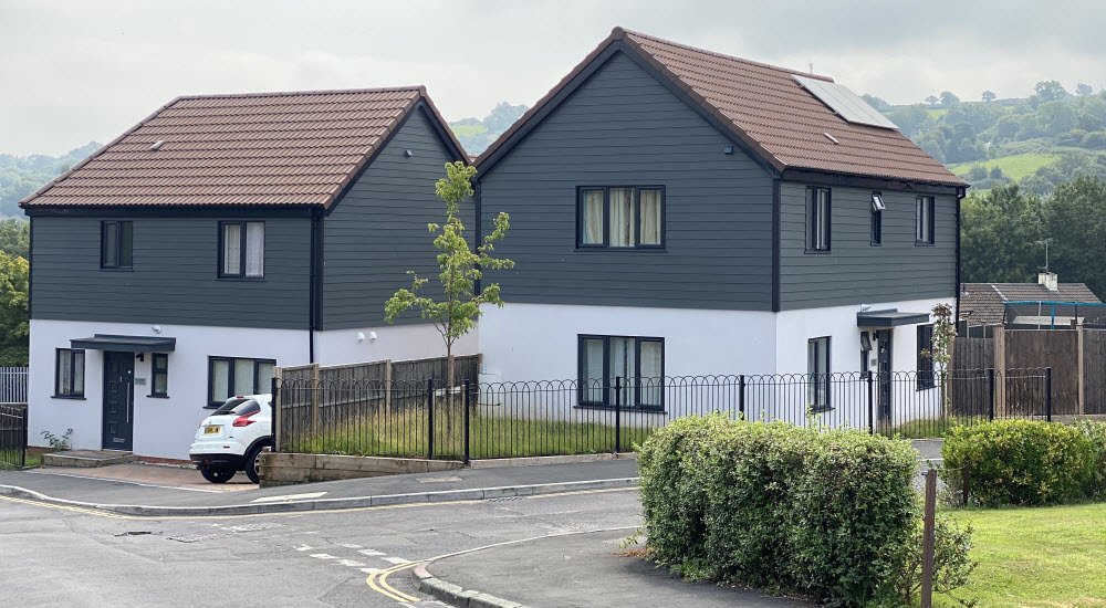completed affordable housing development