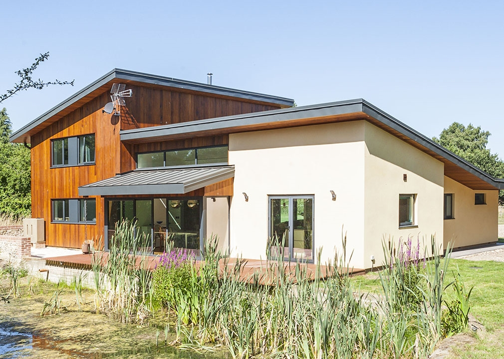 Building beautiful homes with SIP Panels is faster than conventional methods